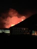 CAFASSE - GIVOLETTO - I boschi continuano a bruciare: Canadair ed elicotteri sul posto - immagine 2