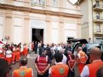 ALPIGNANO - Tanta commozione al funerale di Ornella Bellagarda, morta durante unimmersione - immagine 2