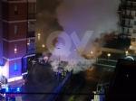 RIVOLI -  Paura in viale Firenze: a fuoco un camper e altre quattro macchine - immagine 2