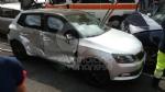VENARIA - Incidente allincrocio tra via Silva e via Verdi: quattro auto coinvolte e due feriti - immagine 2