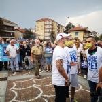 MATTEO SALVINI A VENARIA - «Tumminello è acqua passata: pensiamo al futuro della città» - FOTO - immagine 2