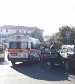 VENARIA - Ennesimo incidente allincrocio tra via Juvarra e via Palestro - immagine 2
