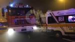 RIVOLI - Il tir si ribalta in tangenziale. Due i feriti: uno è grave al Cto - FOTO - immagine 2