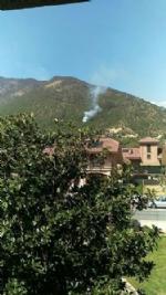 CASELETTE-VAL DELLA TORRE - Un vasto incendio distrugge i boschi del Musinè - FOTO - immagine 2