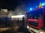 SAVONERA - Incendio alla «Green Up»: rifiuti bruciati dalle fiamme - immagine 2