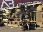 RIVOLI - Furgone si ribalta allimprovviso in autostrada: ferito il conducente - immagine 2