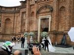 VENARIA-BORGARO - Nella chiesa di SantUberto si è sposata Cristina Chiabotto - immagine 9