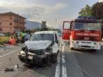 TRAGEDIA SULLA DIRETTISSIMA - Scontro tra due auto davanti alla Tamoil: morto un uomo di Fiano - FOTO - immagine 2