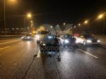 RIVOLI - Scontro in tangenziale: tre auto coinvolte e tre feriti - immagine 2