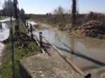 VENARIA - Problemi al canale irriguo della Dora: allagate via Don Sapino e corso Matteotti - immagine 2