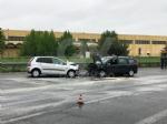 VENARIA - Frontale allo svincolo della tangenziale: due auto coinvolte, due feriti - immagine 2
