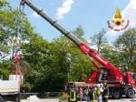 VENARIA - Camion perde il carico: situazione tornata alla normalità in via Stefanat - immagine 2