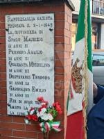 COLLEGNO - Commemorati i partigiani al cippo di corso Francia - immagine 2