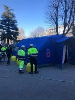 CORONAVIRUS - Allospedale di Rivoli e al Polo Sanitario di Venaria arriva la tenda pre-triage - immagine 2
