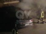 VENARIA - A fuoco unauto in via Don Sapino: nuova firma del piromane? - immagine 2