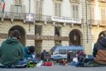 VENARIA - Anche lo Juvarra al flash mob in piazza Castello per il diritto allo studio in presenza - immagine 2