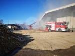 COLLEGNO - Inferno alla «Cascina Serpera»: a fuoco il fienile dellazienda agricola Bosco - immagine 2