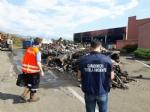 DRUENTO - Incendio al Cidiu: i carabinieri sequestrano trecento metri cubi di rifiuti - VIDEO - immagine 2