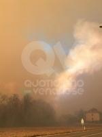 VAL DELLA TORRE - Incendio sui monti tra Brione e Val della Torre - immagine 6