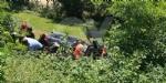 VENARIA - Grave incidente sulla Sp1: scontro tra due auto finite nella scarpata - FOTO e VIDEO - immagine 2