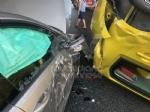 COLLEGNO - Incidente in tangenziale: tre veicoli coinvolti, unauto ribaltata e quattro feriti - immagine 2
