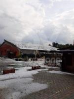 MALTEMPO - Grandine pioggia e vento nella nostra zona. Chicchi da 3 centimetri di diametro - FOTO - immagine 2