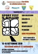 SAN GILLIO - Torna anche questanno la Sport Fest di fine estate - immagine 2