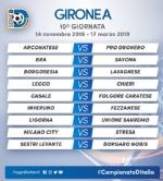 CALCIO SERIE D - Borgaro Nobis nel girone A: ecco il calendario del campionato - immagine 10