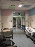 RIVOLI - Notte da incubo in ospedale: al Dea i pazienti Covid costretti a rimanere per terra FOTO - immagine 2