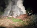 DRUENTO - A fuoco delle ramaglie in un terreno agricolo a ridosso della provinciale - immagine 2