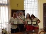 BORGARO - Il Comune premia Giada Barucco, Carlotta Risottino e la Komunicativa Labor Volley U12 - immagine 3