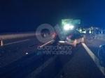 RIVOLI - Incidente in tangenziale: una macchina prende fuoco. Quattro persone rimaste ferite - immagine 2