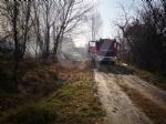 COLLEGNO - Incendio in un cascinale vicino alla statale 24 - immagine 2