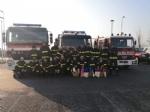 RIVOLI - I vigili del fuoco di Grugliasco, Rivoli e Rivalta in visita ai bambini ricoverati in ospedale - immagine 2