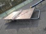 VENARIA - Distrutto il tavolo da ping-pong al DAcquisto. Giulivi: «Tolleranza zero per gli imbecilli» - immagine 2