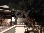 MAPPANO - Il forte vento fa cadere un albero di grosso fusto su una casa in via Meucci - immagine 2