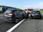 SAVONERA-COLLEGNO - Incidente in tangenziale tra due auto: una donna ferita, portata in ospedale - immagine 3