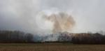 VAL DELLA TORRE - Incendio boschivo in Borgata Buffa: il piromane è tornato in azione? - immagine 3