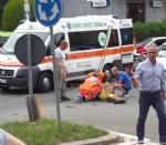 VENARIA - Motociclista ferito gravemente dopo lo scontro con unauto - immagine 3