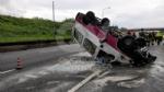 VENARIA REALE - Brutto incidente, tangenziale nord di Torino in tilt: due feriti al Maria Vittoria - FOTO - immagine 3