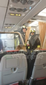 CASELLE - Fiamme sul volo Torino-Roma: evacuati tutti i passeggeri FOTO - immagine 3