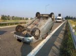 TORINO-RIVOLI - Si ribalta con lauto mentre va a lavoro: ferito 28enne rivolese - immagine 3