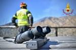 VAL DELLA TORRE - Incendio boschivo: la situazione è in miglioramento. In azione lelicottero - immagine 3