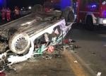DRUENTO-VENARIA - Terribile incidente sulla Sp1 della Mandria: due ragazzi feriti - FOTO - immagine 3