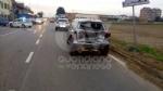 GRUGLIASCO - Scontro fra moto e auto in strada Antica di Grugliasco: centauro ferito - immagine 3
