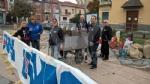 VENARIA - Successo per la «Castagnata» dellAvis in piazza Pettiti - immagine 3