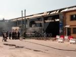 ROBASSOMERO - Esplosione alla A2A: chiusa la zona industriale, in arrivo lArpa FOTO E VIDEO - immagine 3