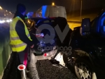 VENARIA - Tamponamento in tangenziale tra unauto e tre furgoni: una donna ferita - FOTO - immagine 3