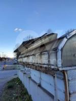 VENARIA - Raffiche di vento in città: scoperchiata la tettoia del sottopasso di corso Garibaldi - immagine 3