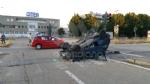 TORINO - VENARIA - Incidente allincrocio vicino alla Cittadella della Juve: tre feriti - immagine 3